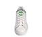 Ref. 3814 Adidas Stan Smith piel blanca con detalles verdes y cordones blancos. - Ítem3