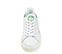 Ref. 3815 Stan Smith Bold piel blanco con detalle trasero en verde. Altura plataforma 3 cm. - Ítem2