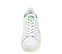 Ref. 3815 Stan Smith Bold piel blanco con detalle trasero en verde. Altura plataforma 3 cm. - Ítem3