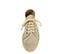 Ref. 3818 Blucher tela beige con plataforma de esparto de 3 cm. Cordones al tono. - Ítem2