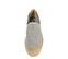 Ref. 3821 Zapato tela gris con plataforma de esparto de 4 cm. - Ítem2