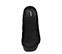 Ref. 3829 Sandalia ante negro tipo zueco. Puntera cuadrada y descubierto por los dedos. Tacón ancho de 7 cm y sin plataforma delantera. - Ítem2