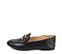 Ref. 3832 Zapato tipo mocasín piel negro. Detalle hebilla metalica. Talonera plegable para llevar en forma de babucha. - Ítem3