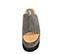 Ref. 3844 Sandalia serraje gris con pala. Plataforma combinada en serraje gris y goma negra. Suela dentada. Altura tacón 9 cm y plataforma delantera 7 cm. - Ítem2