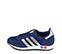 Ref: 3809 Adidas L.A Trainer serraje azul con detalles en piel plata. Botones tricolor en la suela. Cordones azules. - Ítem3