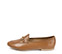 Ref. 3855 Zapato tipo mocasín plano de piel cuero. Detalle metálico dorado. - Ítem3