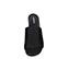 Ref: 3856 Sandalia ante negro con pala lisa. Altura tacón 6 cm y sin plataforma delantera. Detalle elástico interior. - Ítem2