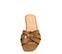 Ref. 3874 Sandalia piel cuero con nudo en la pala. Puntera cuadrada. - Ítem2