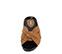 Ref. 3891 Sandalia piel cuero con detalle nudo en la pala. Plantilla piel anatomica. - Ítem1