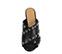 Ref. 3892 Sandalia piel negro con detalle tachas plateadas. Pala cruzada. Altura tacón 10.5 cm y sin plataforma delantera. - Ítem2