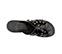 Ref. 3893 Sandalia piel negra con pala cruzada y detalle tachas plateadas y brillantes. - Ítem3