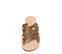 Ref. 3894 Sandalia piel cuero con pala cruzada y detalle tachas plateadas y brillantes. - Ítem2