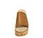 Ref. 3920 Sandalia piel cuero con pala. Altura plataforma trasera 7 cm y plataforma delantera 6 cm. Plataforma de corcho. - Ítem2