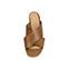 Ref. 3938 Sandalia piel cuero con pala cruzada. Altura tacón 8.5 cm y sin plataforma delantera. - Ítem2