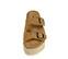 Ref. 3960 Sandalia serraje cuero con detalle de dos hebillas y arandelas plateadas. Plataforma de esparto de 5 cuerdas. Altura de 5 cm. Plantilla anatomica. - Ítem2