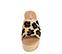 Ref. 3969 Sandalia potro con estampado leopardo y pala. Altura plataforma trasera 6.5 cm y plataforma delantera 5 cm. Plataforma de esparto. Plantilla de piel acolchada. - Ítem2