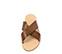 Ref. 3991 Sandalia piel cuero con pala cruzada. Plantilla de piel. - Ítem2