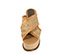 Ref. 3997 Sandalia combinada de piel y rafia en tonos beige. Pala cruzada. Altura tacón 9.5 cm y plataforma delantera de 7.5 cm. Detalle tachas en el contorno de la suela delantera. Plataforma de saco - Ítem2