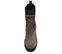 Ref. 4088 Botín serraje gris con elásticos laterales y frontal. Detalle tachas negras en el contorno y en la parte de atrás. Altura tacón 11 cm y plataforma delantera de 3.5 cm. Caña de 13.5 cm. - Ítem2