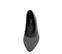 Ref. 4102 Manoletina serraje gris con detalle tacheado en plata. Acabado en forma de ondas. Parte delantera acabada en punta. - Ítem2