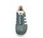 Ref. 4117 Adidas Gazelle W serraje verde agua. Simbolo piel blanca. Cordones al tono. Suela blanca. - Ítem2