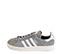 Ref. 4137 Adidas Campus serraje gris con detalle simbolo en piel blanca. Cordones grises. - Ítem3