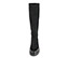 Ref. 4145 Bota antelina negro con suela dentada. Tacón de 4 cm y plataforma delantera de 2.5 cm. Altura de caña 40 cm. - Ítem2
