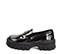 Ref. 4159 Zapato tipo mocasín florenty negro. Suela dentada. Tacón de 5 cm y plataforma delantera de 4 cm. - Ítem3