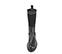 Ref. 4161 Bota piel negra con caña tipo calcetín en negro. Suela dentada. Tacón de 4 cm y plataforma delantera de 2.5 cm. - Ítem2