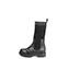Ref. 4161 Bota piel negra con caña tipo calcetín en negro. Suela dentada. Tacón de 4 cm y plataforma delantera de 2.5 cm. - Ítem3