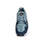 Ref. 4196 Adidas Falcon W tela azul combinada con serraje azul oscuro. Detalles metalizados. Suela combinada blanca y rosa. Cordones azules. - Ítem2