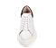 Ref. 4226 Sneaker piel blanca con detalle trasero en serraje negro. Altura plataforma trasera 6 cm y plataforma delantera 4 cm. - Ítem2