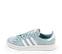 Ref. 4257 Adidas Campus serraje azul con detalles en blanco. Cordones al tono. - Ítem3