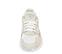 Ref. 4258 Adidas Falcon w combinada en tela blanca y piel beige. Suela blanca. Cordones blancos. - Ítem2