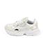 Ref. 4258 Adidas Falcon w combinada en tela blanca y piel beige. Suela blanca. Cordones blancos. - Ítem3