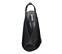 Ref. 4264 Sandalia ante negro con pala escotada en forma de V. Altura tacón 10 cm y sin plataforma delantera. Tira del talón con elástico. - Ítem2