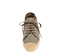 Ref: 4303 Alpargata de lino color gris con cordones al tono y plataforma de esparto. Altura plataforma de 3 cm - Ítem2