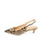 Ref. 4315 Zapato salón piel beige con grabado serpiente. Detalle hebilla lateral dorada. Puntera acabada en punta. Altura tacón 4.5 cm. - Ítem3