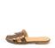 Ref. 4326 Sandalia plana con estampado coco cuero. Pala en forma de H. Puntera cuadrada. - Ítem3