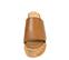 Ref. 4335 Sandalia piel cuero con pala. Altura plataforma trasera 8 cm y plataforma delantera 4.5 cm. Plataforma corcho. - Ítem2