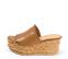 Ref. 4335 Sandalia piel cuero con pala. Altura plataforma trasera 8 cm y plataforma delantera 4.5 cm. Plataforma corcho. - Ítem3