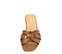 Ref. 4343 Sandalia piel cuero con detalle nudo en la pala. Plantilla de piel. - Ítem2