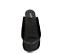 Ref. 4360 Sandalia serraje negro con pala y plataforma forrada. Altura tacón 10.5 cm y plataforma delantera 5 cm. - Ítem2