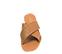 Ref. 4453 Sandalia piel cuero con pala cruzada y detalle trenzado. Plantilla y suela de piel. - Ítem2