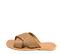 Ref. 4453 Sandalia piel cuero con pala cruzada y detalle trenzado. Plantilla y suela de piel. - Ítem3