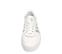 Ref. 4474 Adidas Sambarose piel blanca con detalles en piel plata. Altura plataforma 3 cm. Cordones blancos. - Ítem2