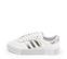 Ref. 4474 Adidas Sambarose piel blanca con detalles en piel plata. Altura plataforma 3 cm. Cordones blancos. - Ítem3
