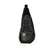 Ref. 4505 Sneaker serraje negra combinada con piel y tela al tono. Suela blanca. Altura plataforma trasera 5 cm y delantera de 2.5 cm. Plantilla anatomica. - Ítem2