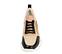 Ref. 4506 Sneaker combinada con piel rosa y negra y serraje en rosa, beige y visón. Cordones negros. Suela combinada. Altura plataforma trasera 5 cm y delantera de 2.5 cm. Plantilla anatomica - Ítem2
