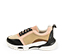 Ref. 4506 Sneaker combinada con piel rosa y negra y serraje en rosa, beige y visón. Cordones negros. Suela combinada. Altura plataforma trasera 5 cm y delantera de 2.5 cm. Plantilla anatomica - Ítem3